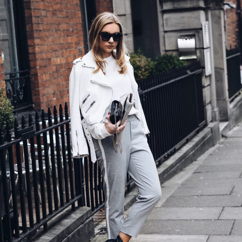 monochrome outfit