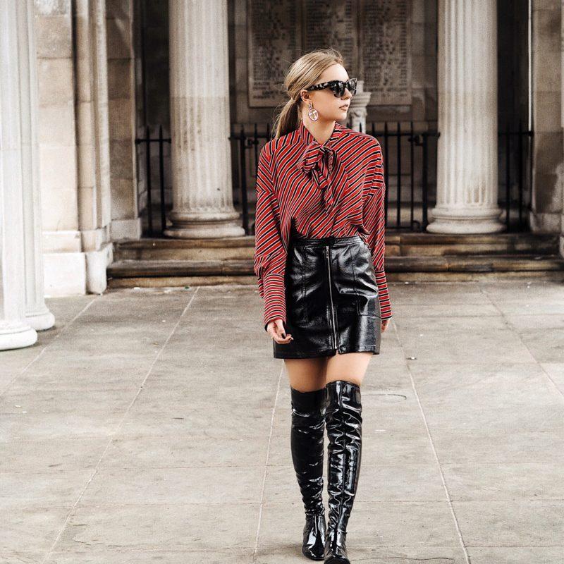vinyl-skirt