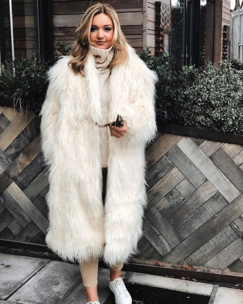 long shaggy coat