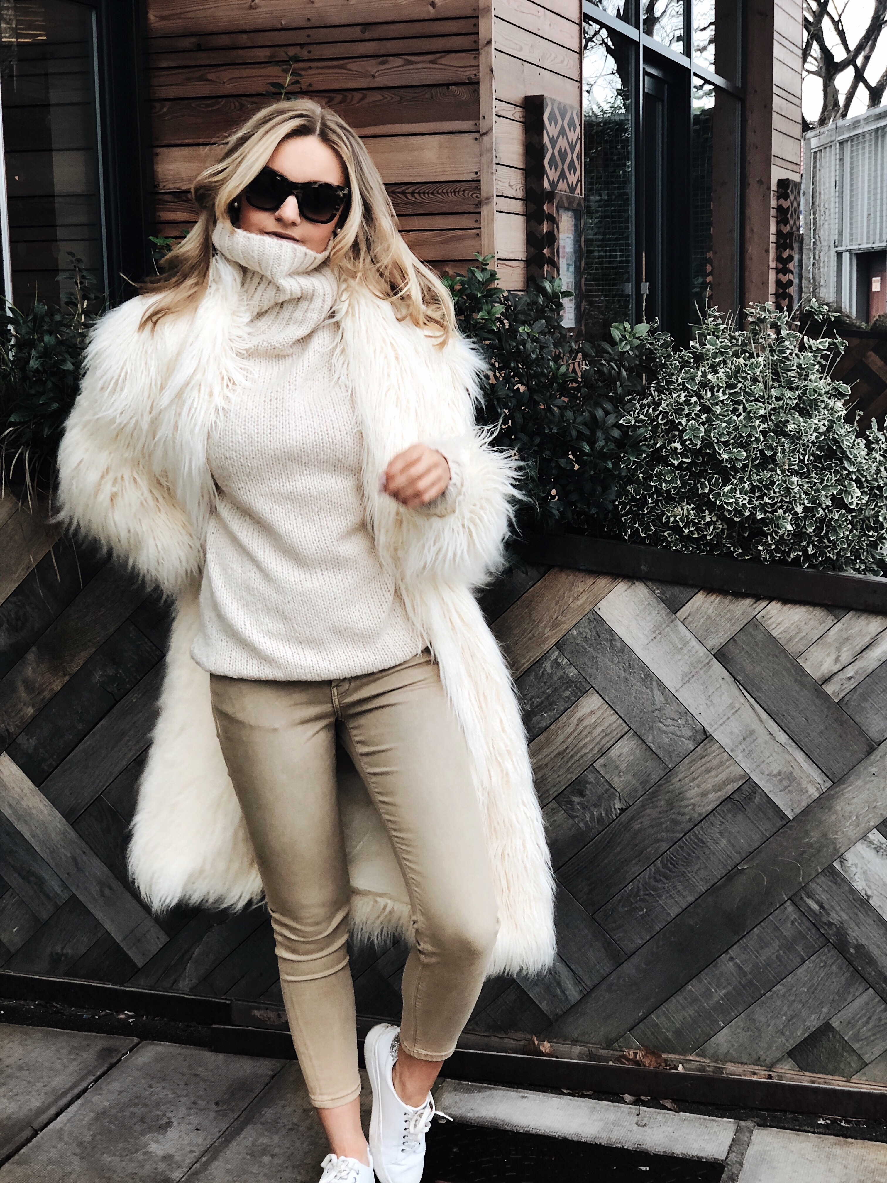 all cream outfit