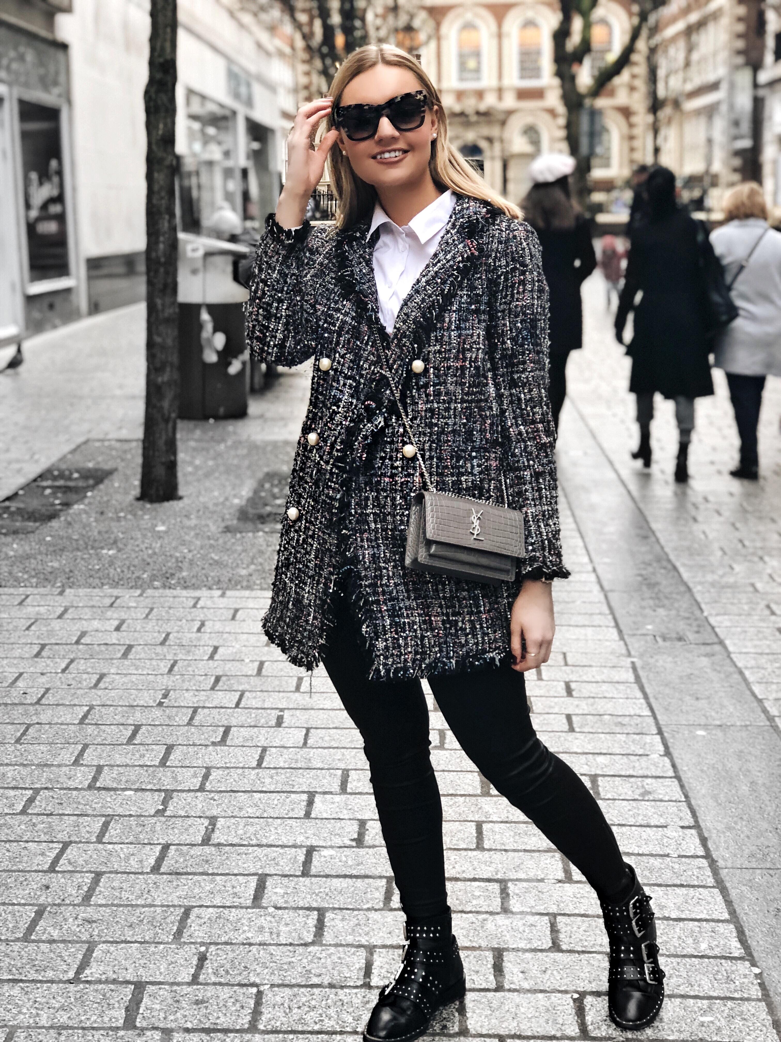 Chanel Style Jacket Lydia Tomlinson